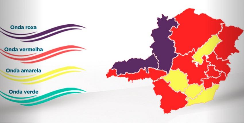 Governo anuncia onda roxa no estado; Norte de Minas é monitorado