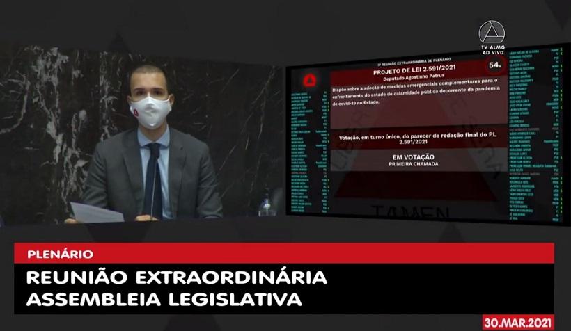 Tadeuzinho preside votação que permite mais contratações na saúde