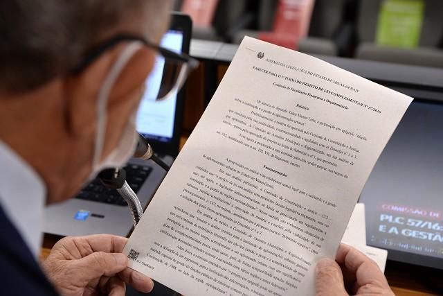 Aprovado na FFO, PLC de Tadeuzinho já pode ser votado em plenário