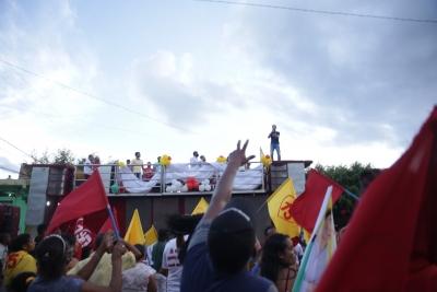 Tadeuzinho acompanha candidatos na reta final de campanha