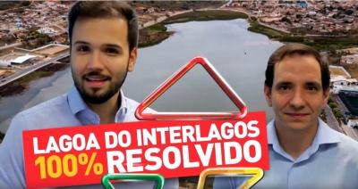 Lagoa Interlagos tem restante de verba garantida para urbanização