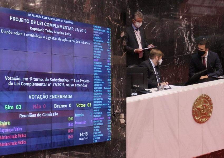 ALMG aprova projeto de Tadeuzinho que permite novas parcerias entre municípios